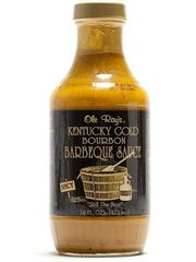 """Ole Ray's Kentucky Gold Bourbon Barbeque Sauce - (TWO """"2"""" Pack of 16 Oz. Bottles)"""