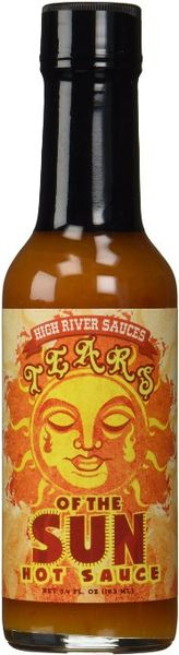 """High River Sauces Tears Of The Sun Hot Sauce – (Three """"3"""" Pack Of 5.4 Oz. Bottles)"""
