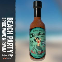 Clamlube Beach Party Spice Wave Nirvana Hot Sauce – (3 Pack)