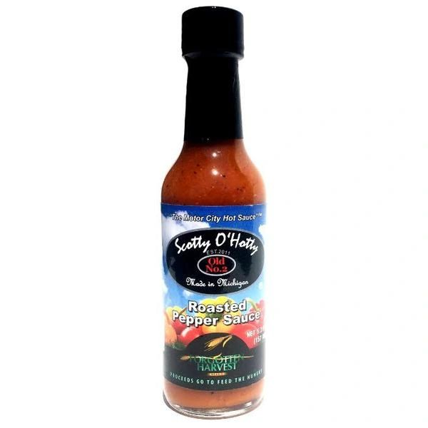 Scotty O'Hotty Roasted Pepper Sauce – (Single Bottle)