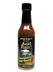 "Acid Rain Scorpion Hot Sauce – (Three ""3"" Pack of 5 Oz. Bottles)"