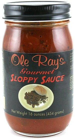"""Ole Ray's Gourmet Sloppy Sauce - (TWO """"2"""" Pack of 16 Oz. Bottles)"""