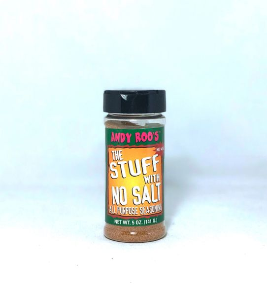 Andy Roo's The Stuff With No Salt All Purpose Seasoning (3 pack)