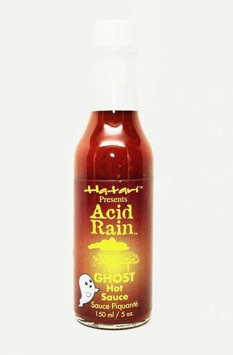 "Acid Rain Ghost Pepper Hot Sauce – (Three ""3"" Pack of 5 Oz. Bottles)"