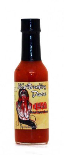 "Heartbreaking Dawns 1841 Pear & Apple Ghost Sauce – (Twelve ""12"" Pack Of 5 Oz. Bottles)"
