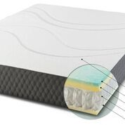 "Danican® Waves™ 10"" Hybrid Mattress-COOLING-Full"