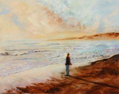 """5 greeting cards of """"Ebb Tide"""""""