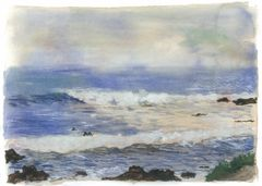 """6 greeting cards of """"Whispering Sea"""""""