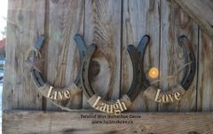 Live, Laugh, Love- Black