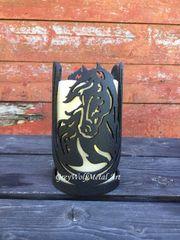 Horse in Horseshoe - Candle Holder
