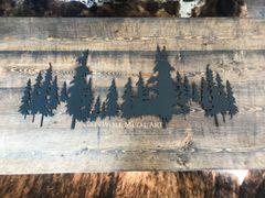 Rustic Tree Line