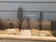 Set of 3 Wheat Sheaves in black or Copper