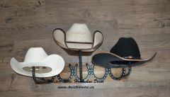 3 Place Horizontal Hat Rack
