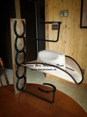 Vertical Hat Rack - 3 place