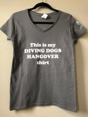 Hangover V-Neck Tee (Ladies)