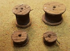 Cable Reels O Scale