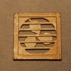 O Scale Laser Cut Wall Fan (4)