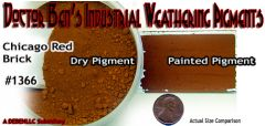 Chicago Brick Red Weathering Pigment-2oz Doctor Ben's Scale Consortium