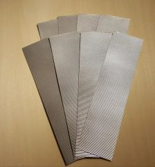 Corrugated Material Roofing/Siding N Scale