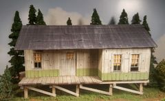 O Scale Utility Shed