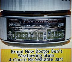 Timberline Green Weathering Stain-4oz Doctor Ben's Scale Consortium