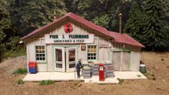Pink J Plemmons Grocery HO Scale Kit