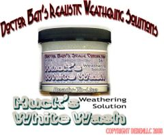HUCK'S WHITEWASH Weathering Solution 4oz-Doctor Ben'
