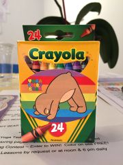 Yoga Teddy Bear Crayons