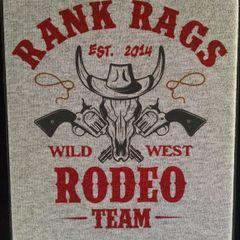 New Rank Rags Rodeo Team T-SHIRT