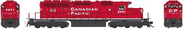 Bowser Ho Scale SD40-2 (3rd Release) Canadian Pacific Block Lettering DCC & Sound *Pre-order*