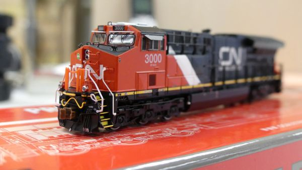 Scaletrains Rivet Counter N Scale ET44AC Canadian National DCC Ready