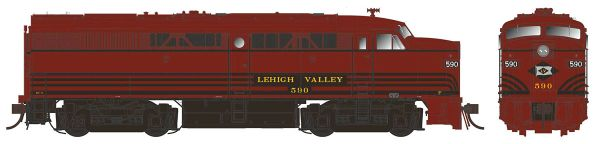 Rapido Ho Scale FPA-2 Lehigh Valley DCC W/Sound
