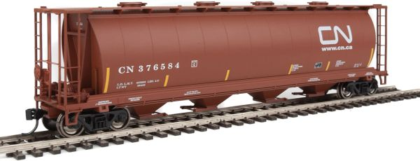 Walthers Mainline 59' Cylindrical Hopper Canadian National Website Logo