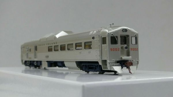 Rapido Ho Scale RDC-3 Phase 1B & 1C Chicago Rock Island & Pacific DCC W/Sound