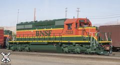 Scaletrains Rivet Counter Ho Scale SD40-2 BNSF Hertiage I DCC & Sound