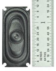 35MM X 16MM TCS Oval WOWSpeaker 1W