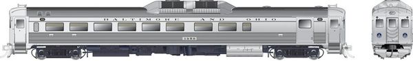 Rapido Ho Scale RDC-2 Phase 1B Baltimore & Ohio DCC Ready *Pre-order*