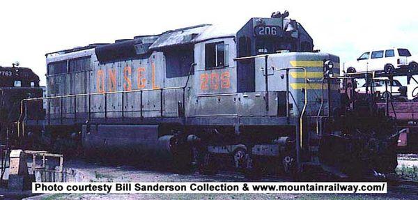 Bowser Ho Scale SD40 QNSL W/Snow Shields DCC & Sound *Pre-order*