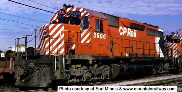 """Bowser Ho Scale SD40 CP Rail 5"""" Stripes Large Multimark W/O Ditchlights"""" DCC & Sound *Pre-order*"""