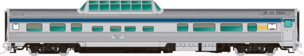 Rapido Ho Scale Budd Mid Train Dome Cars Via