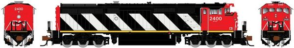 Rapido N Scale Dash 8-40CM CN Stripes DCC & Sound W/Ditchlights *Pre-order*