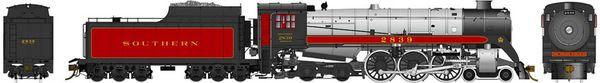 Rapido Ho Scale Royal Hudson Southern Railway CLASS H1c DCC & Sound *Pre-order*