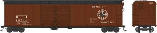 Bowser Ho Scale Detroit, Toledo and Ironton X32 50ft Boxcar