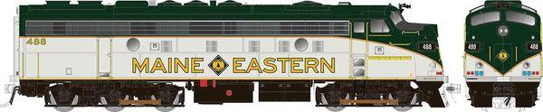 Rapido Ho Scale Maine Eastern Modernized FL9 W/Ditchlights DCC & Sound *Reservation*