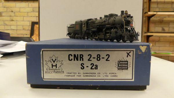 Van Hobbies Ho Scale S-2a 2-8-2 Canadian National (CNR) #3526
