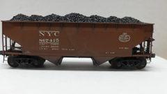 Kadee Custom 50 Ton AAR Standard 2 Bay Offset Open Hopper New York Central #867415