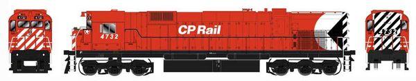 "Bowser HO Scale CP Rail M636 8"" Stripe W/ Water Tank & Ditchlights DCC Ready"