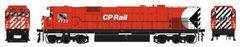"""Bowser HO Scale CP Rail M636 8"""" Stripe W/ Water Tank & Ditchlights DCC W/Loksound"""