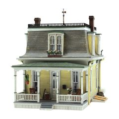 Woodland Scenics HO Scale Built & Ready Home Sweet Home
