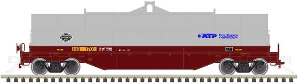 Atlas Ho Scale 42' Coil Steel Cars Indiana Harbor Belt